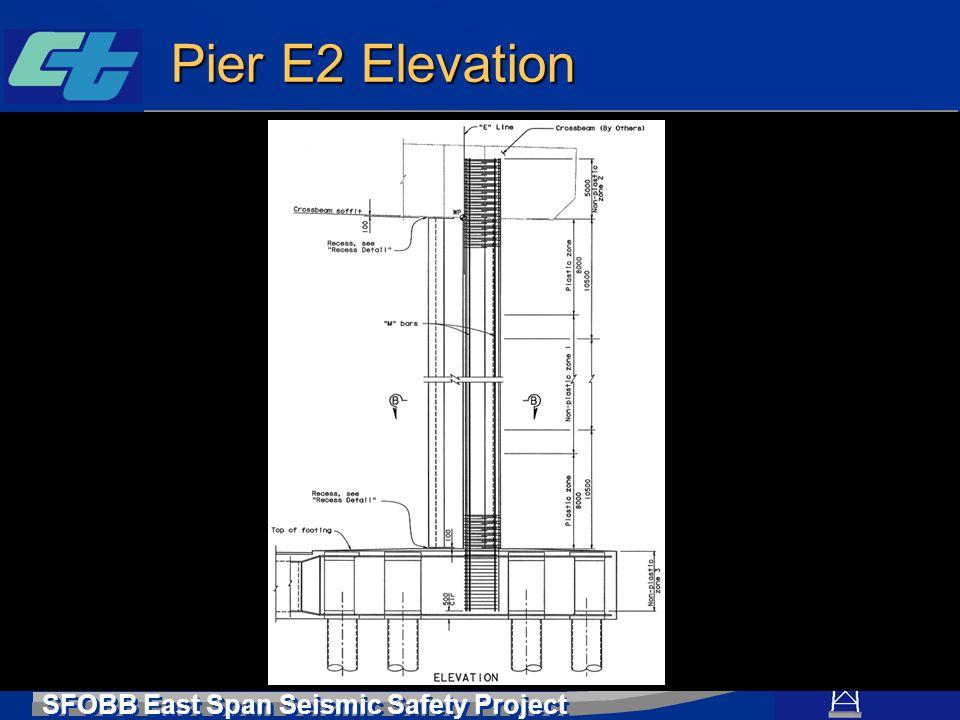 Pier E2 Elevation