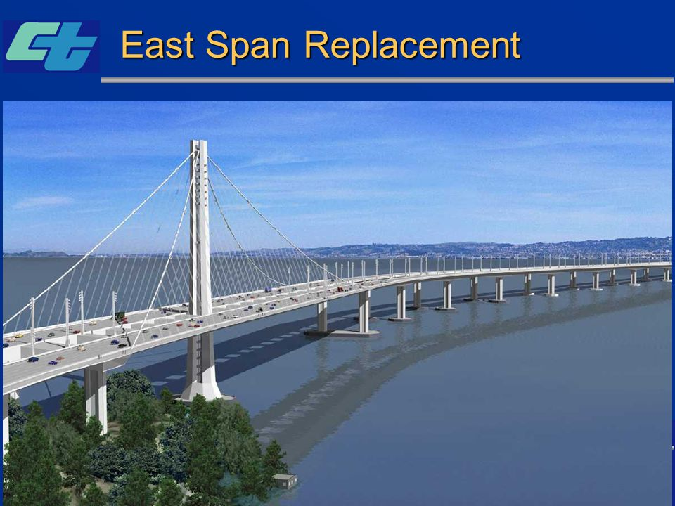 East Span Replacement (Self-Anchored Suspension bridge land foundation, W2) Unofficial Engineer Estimate: $29 million.