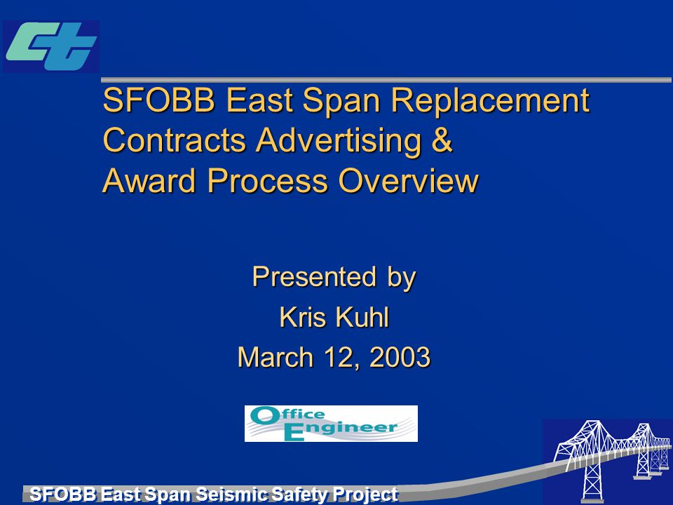 Presented by Kris Kuhl March 12, 2003