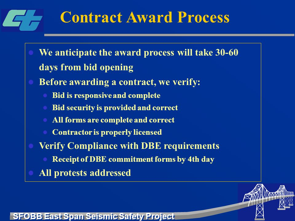 Contract Award Process