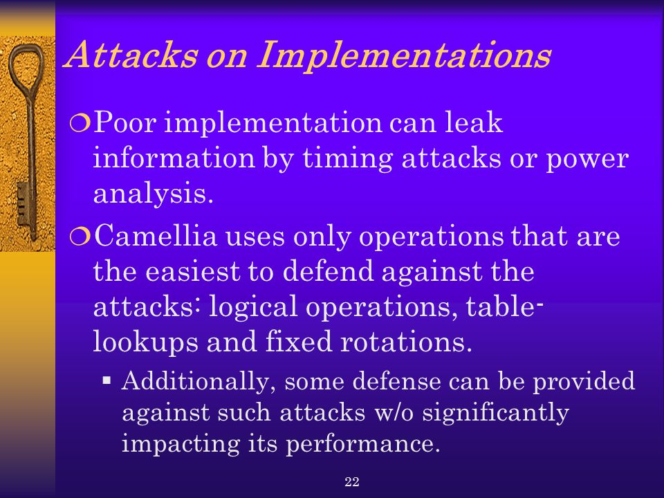 Attacks on Implementations