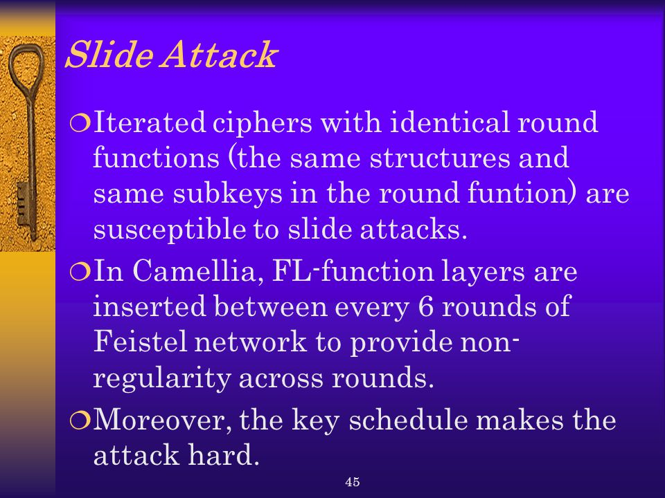 Slide Attack