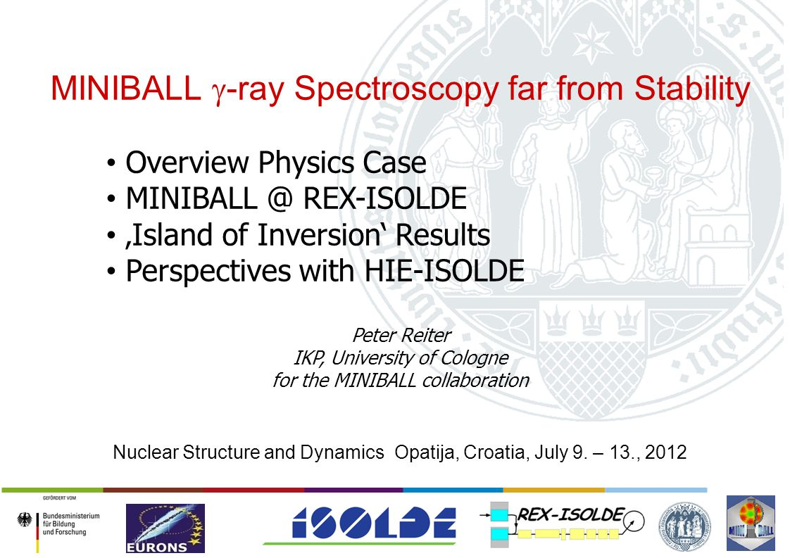 MINIBALL g-ray Spectroscopy far from Stability