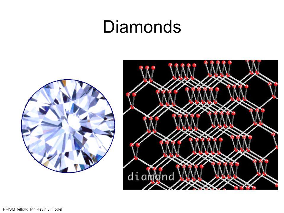 Diamonds PRISM fellow: Mr. Kevin J. Hodel