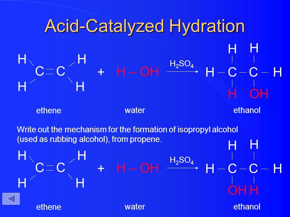 Acid-Catalyzed Hydration