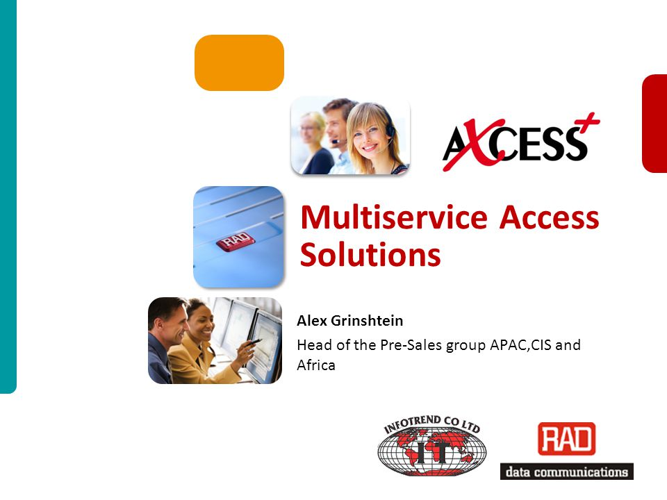 Multiservice Access Solutions
