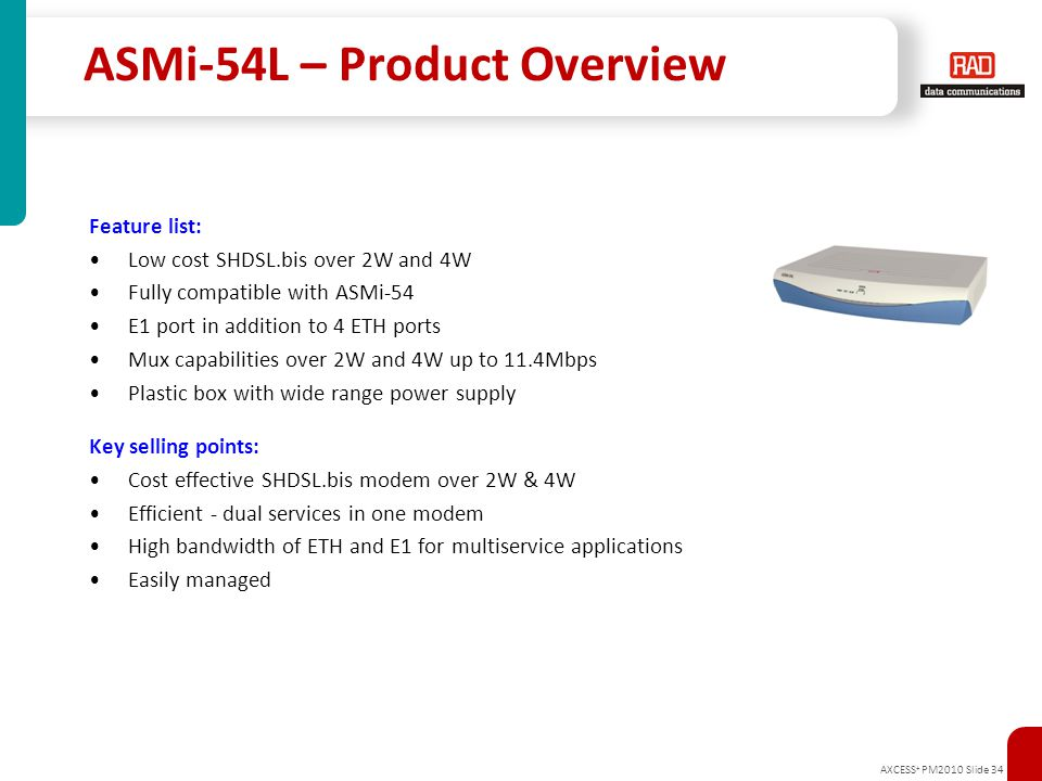 ASMi-54L – Product Overview