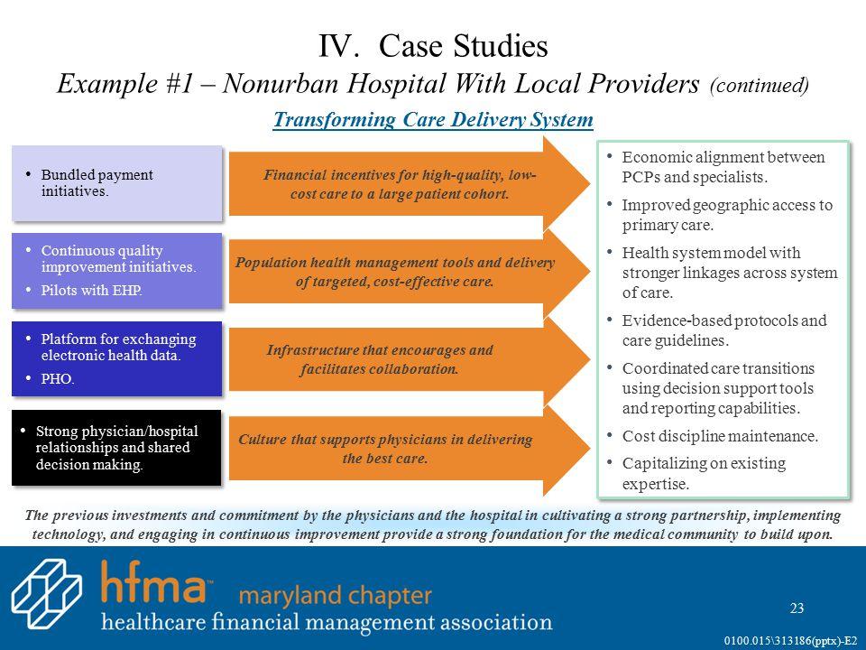IV. Case Studies Example #2 – Nonurban CIN