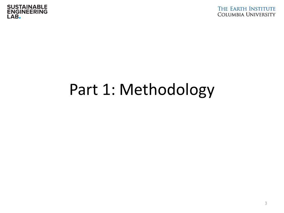 Part 1: Methodology