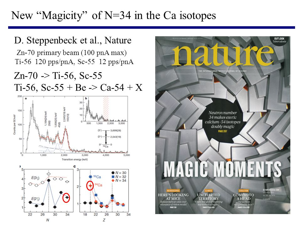 New Magicity of N=34 in the Ca isotopes