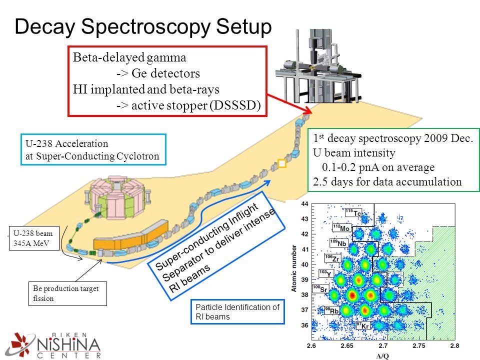 Decay Spectroscopy Setup