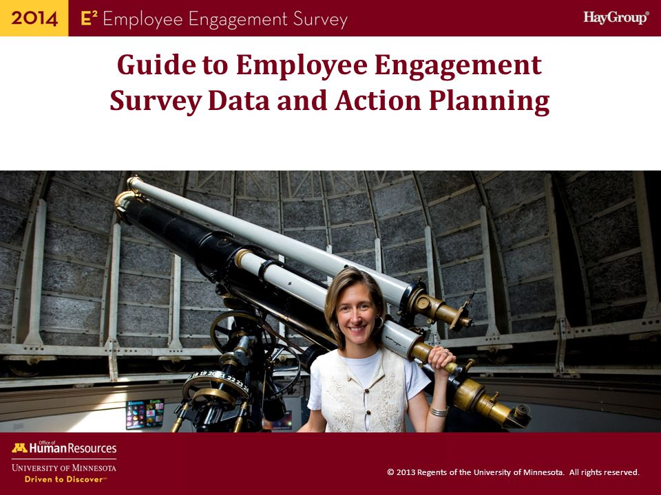 Guide to Employee Engagement Survey Data and Action Planning