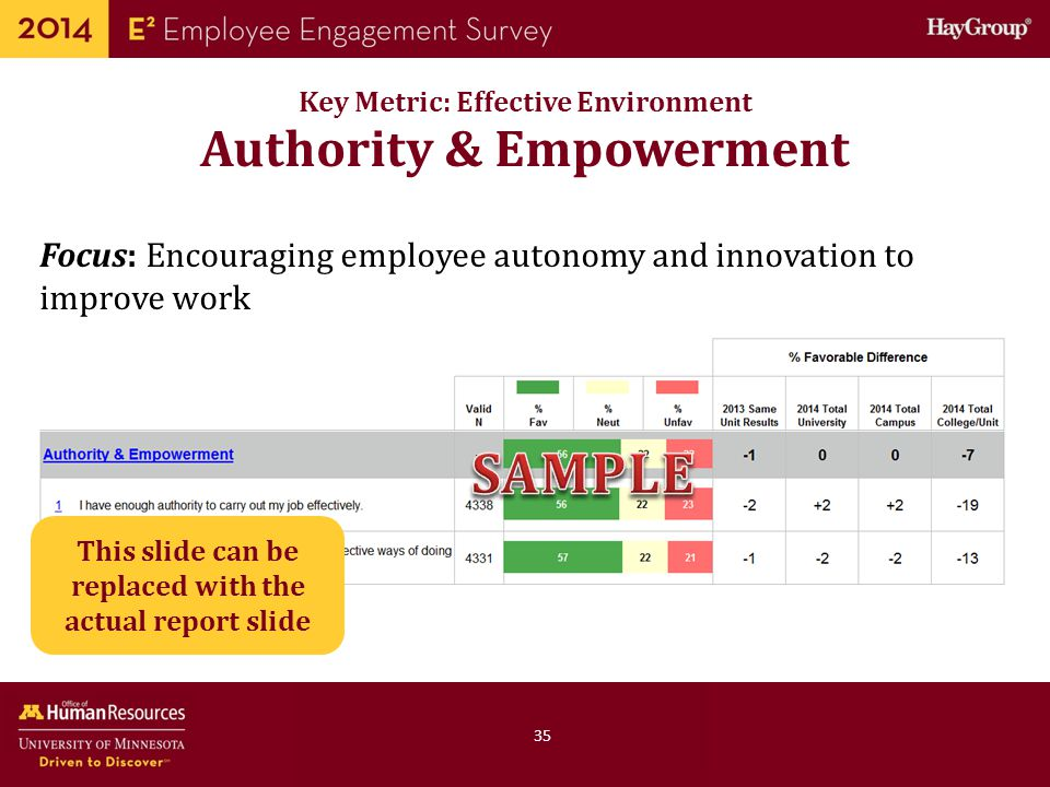 SAMPLE Authority & Empowerment