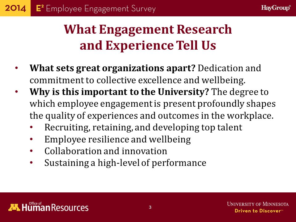 What Engagement Research and Experience Tell Us