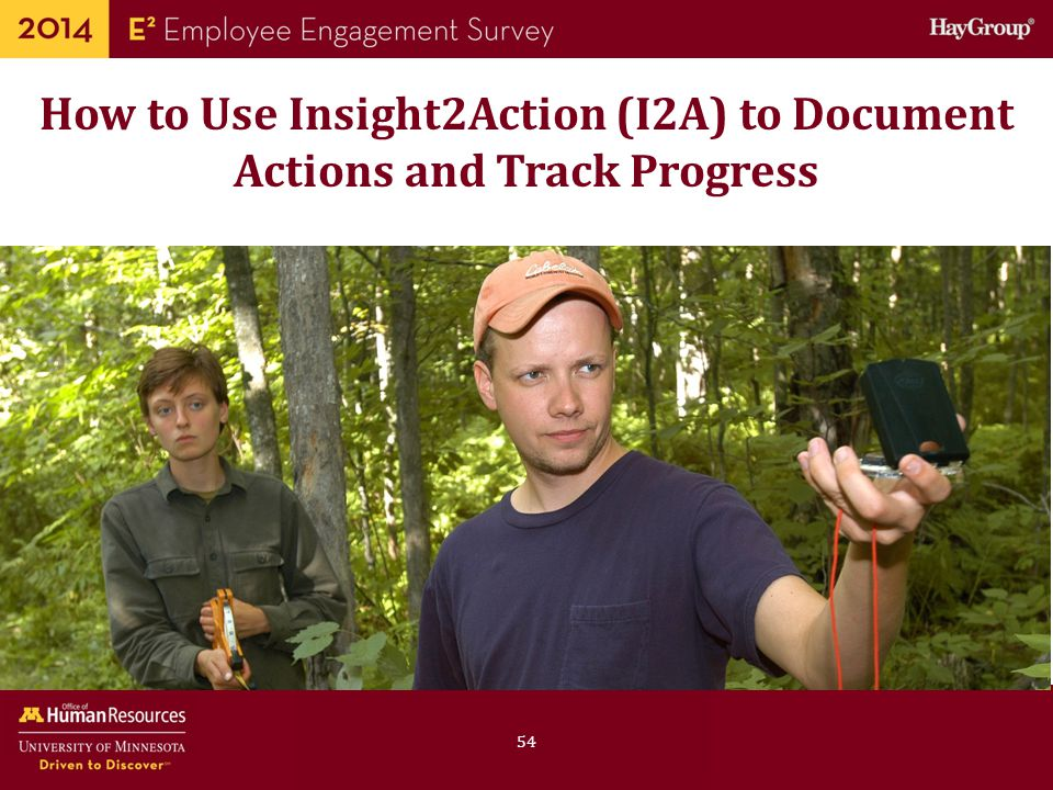 How to Use Insight2Action (I2A) to Document Actions and Track Progress