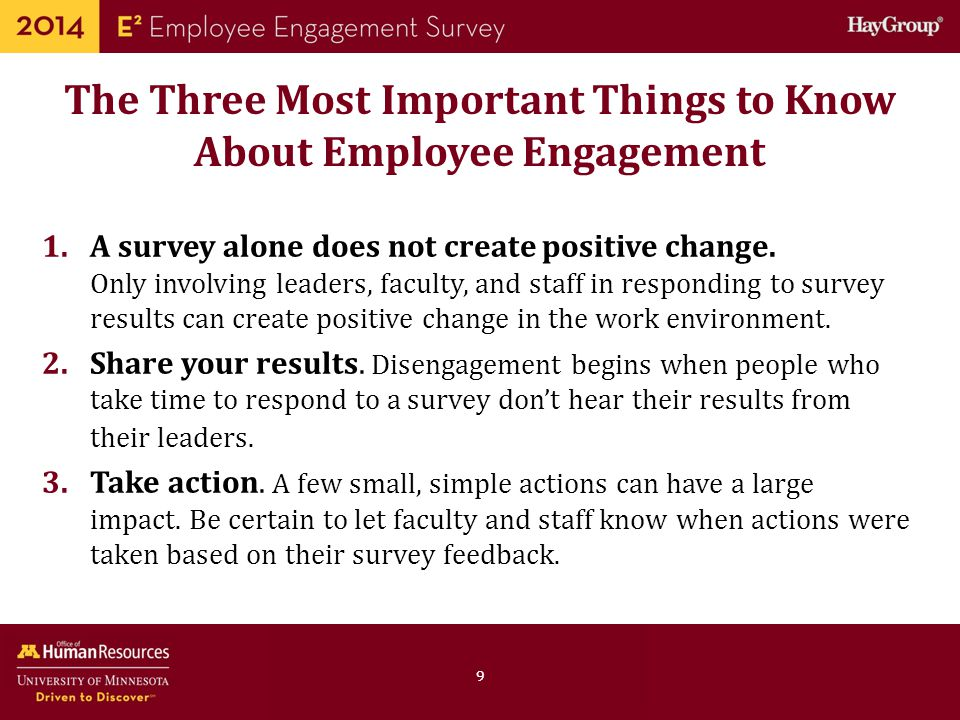 The Three Most Important Things to Know About Employee Engagement
