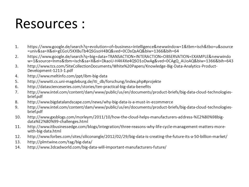 Resources :