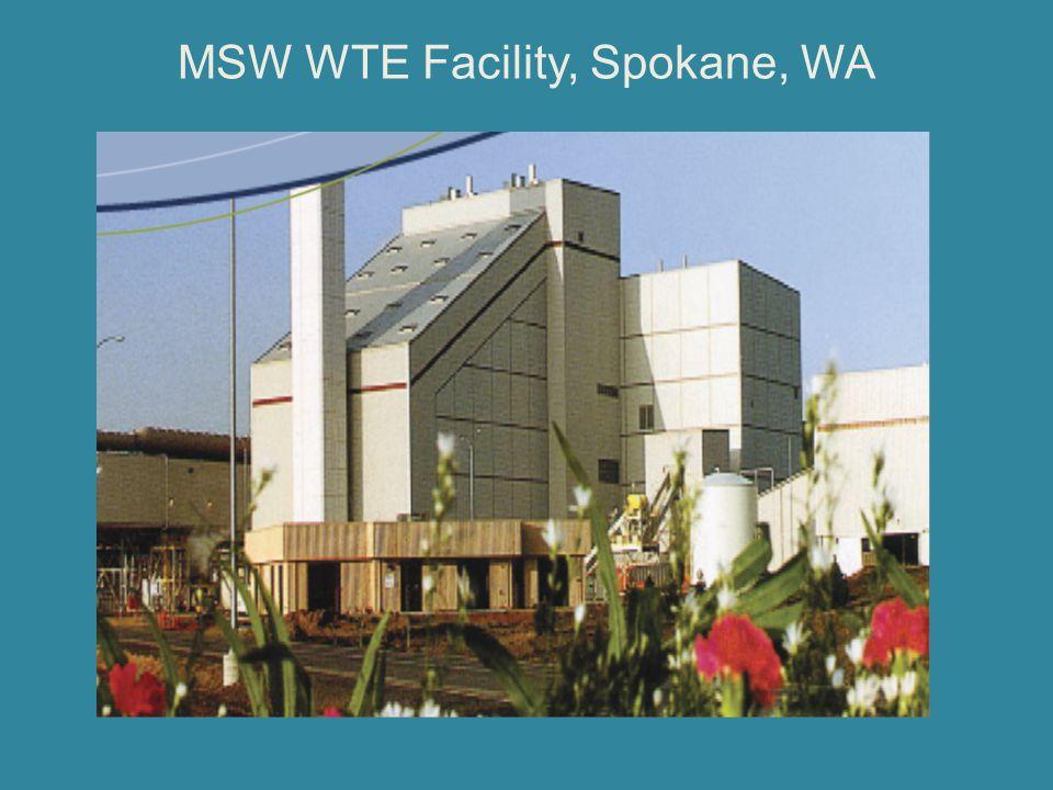 MSW WTE Facility, Spokane, WA