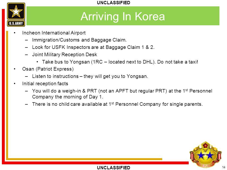 Arriving In Korea Incheon International Airport