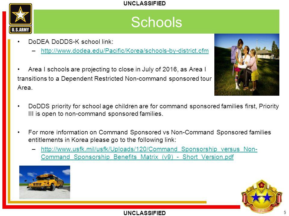Schools DoDEA DoDDS-K school link: