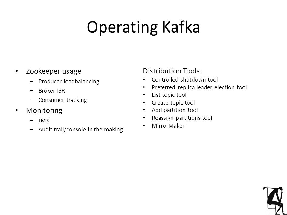 Operating Kafka Zookeeper usage Distribution Tools: Monitoring