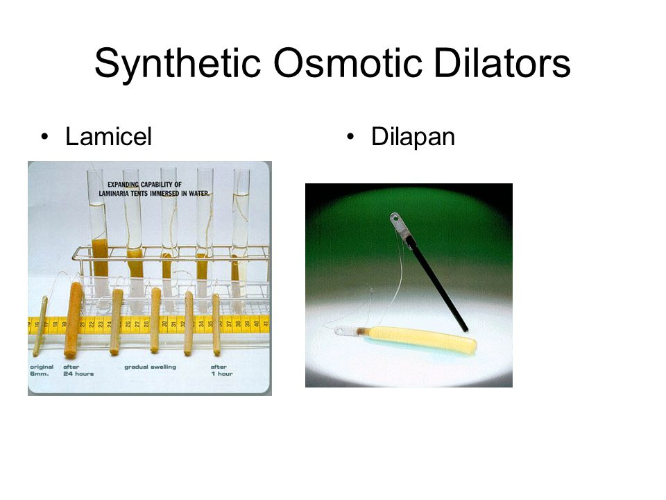 Synthetic Osmotic Dilators