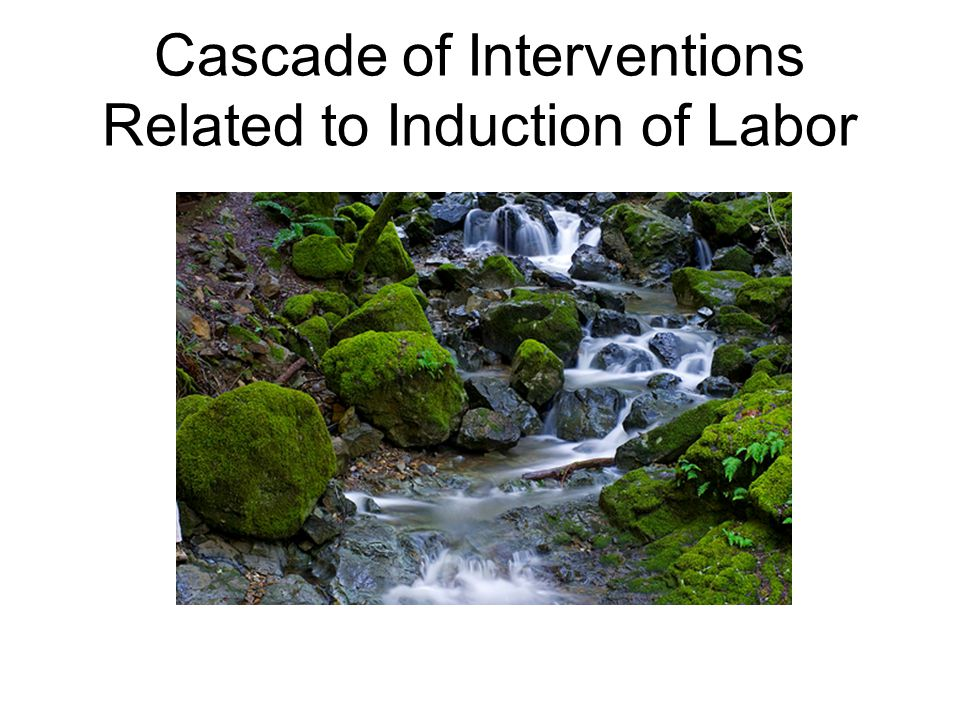 Cascade of Interventions Related to Induction of Labor
