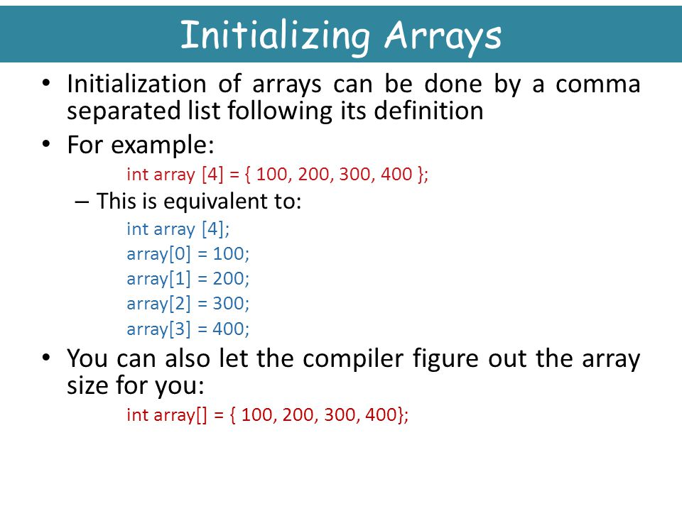 array in c++ programming examples pdf