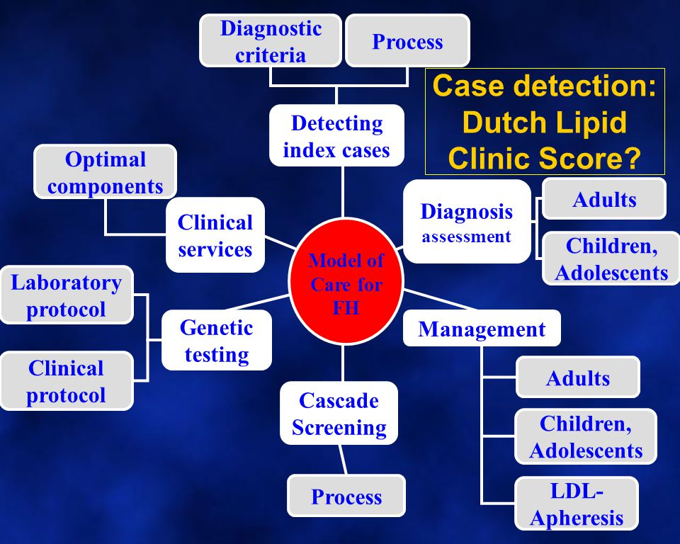 Case detection: Dutch Lipid Clinic Score