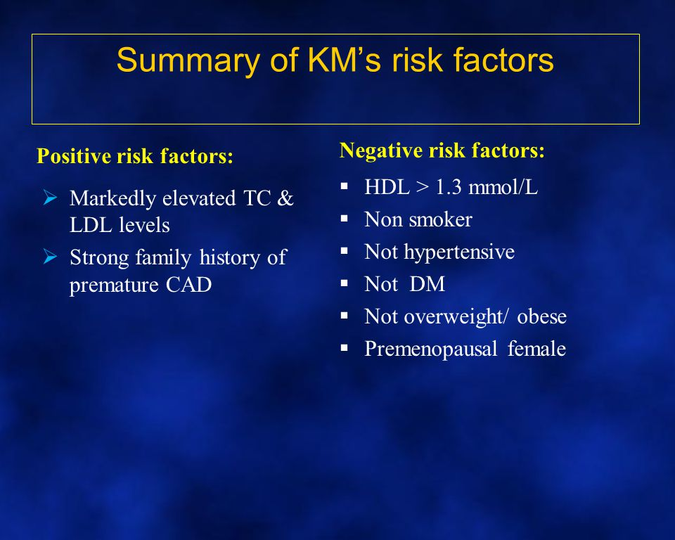 Summary of KM's risk factors