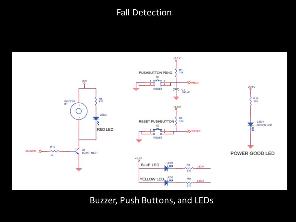 Buzzer, Push Buttons, and LEDs