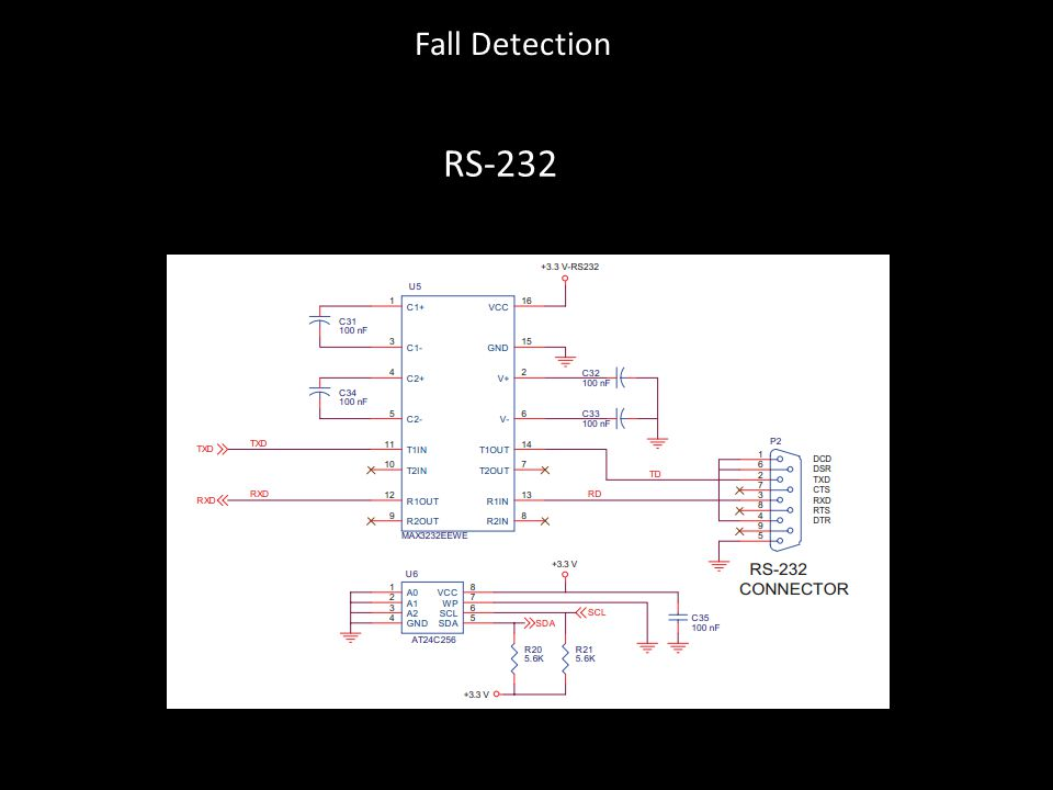 Fall Detection RS-232