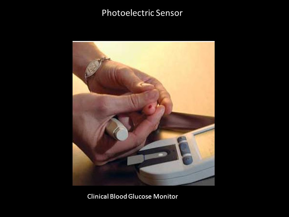 Photoelectric Sensor Clinical Blood Glucose Monitor