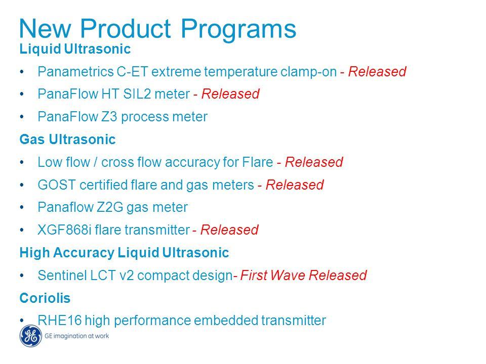 New Product Programs Liquid Ultrasonic
