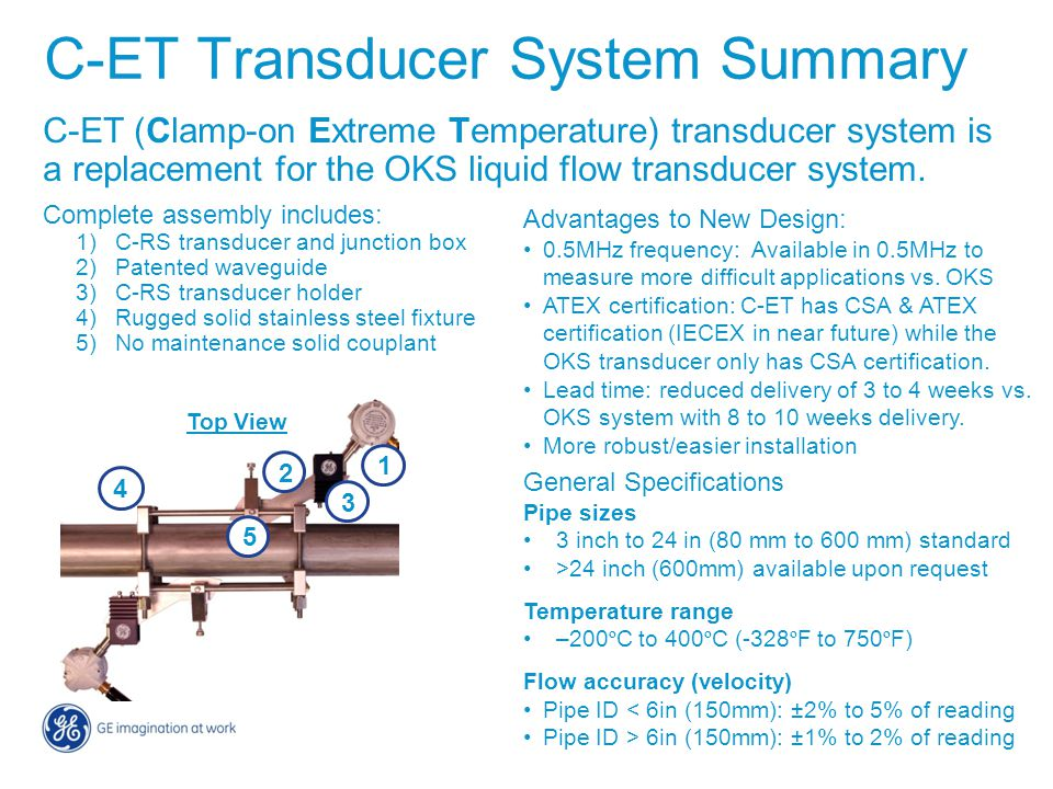 C-ET Transducer System Summary