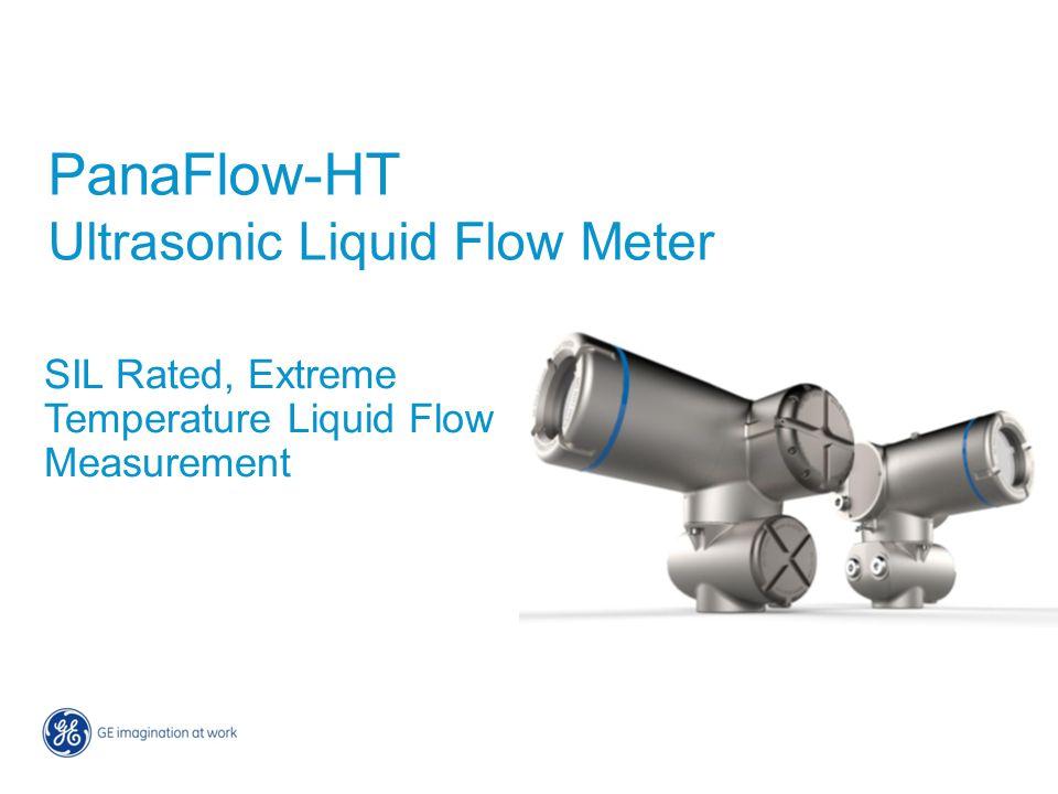 PanaFlow-HT Ultrasonic Liquid Flow Meter