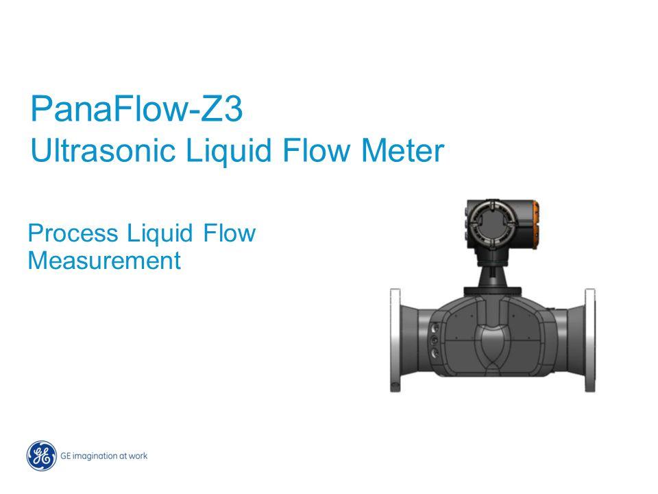 PanaFlow-Z3 Ultrasonic Liquid Flow Meter