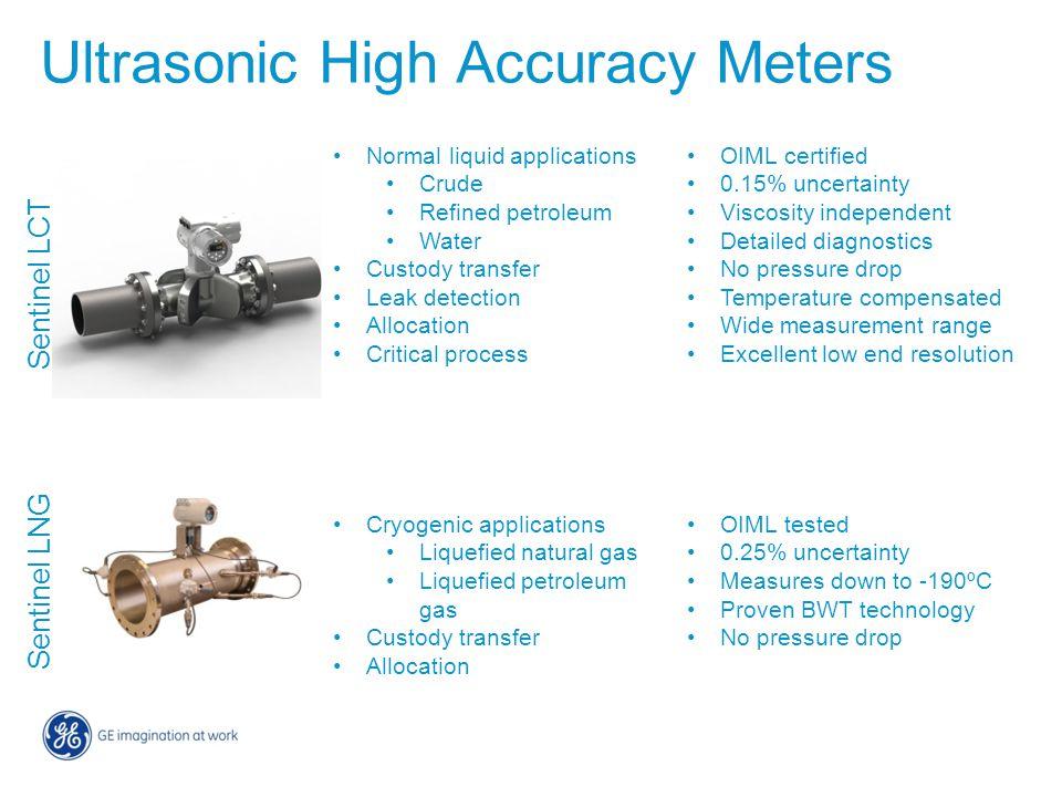 Ultrasonic High Accuracy Meters