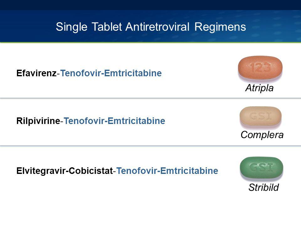 Single Tablet Antiretroviral Regimens