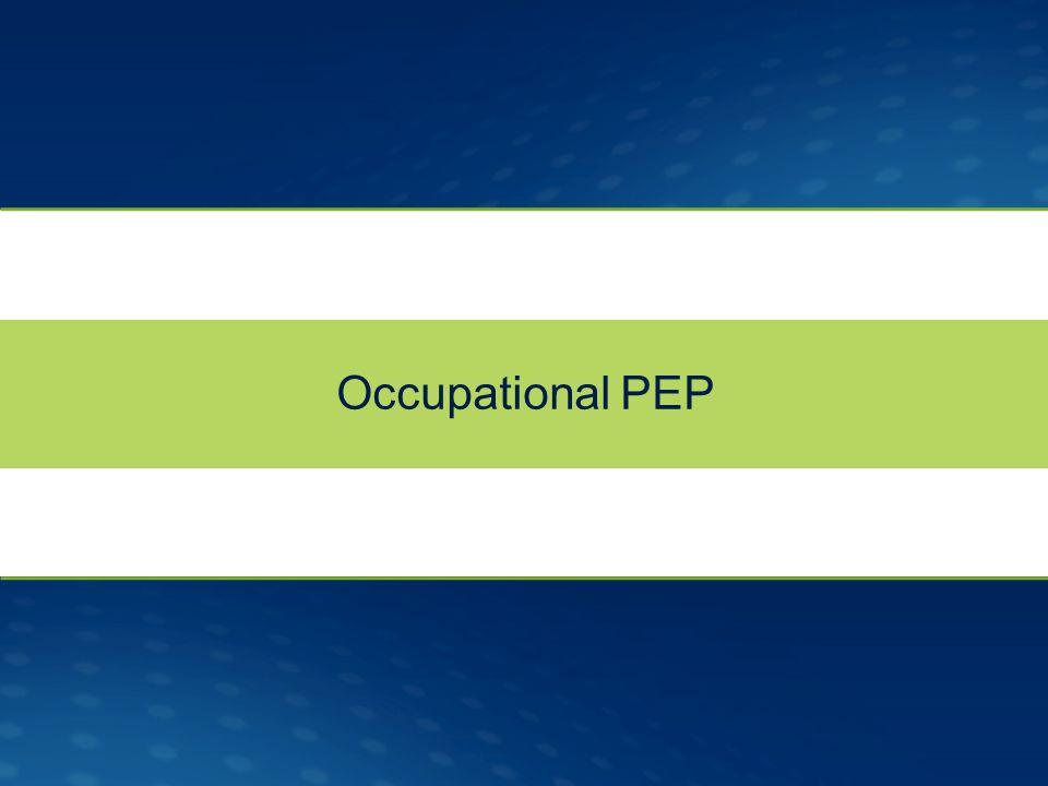 Occupational PEP
