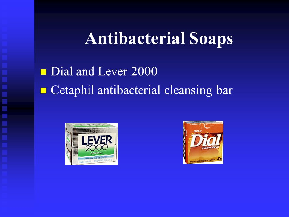 Antibacterial Soaps Dial and Lever 2000