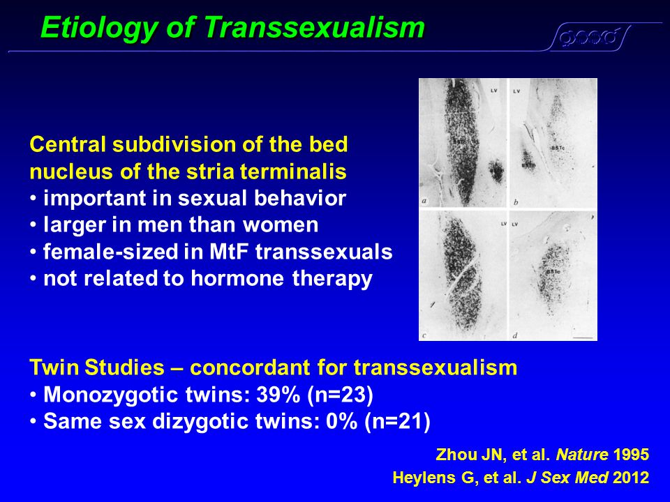 Etiology of Transsexualism