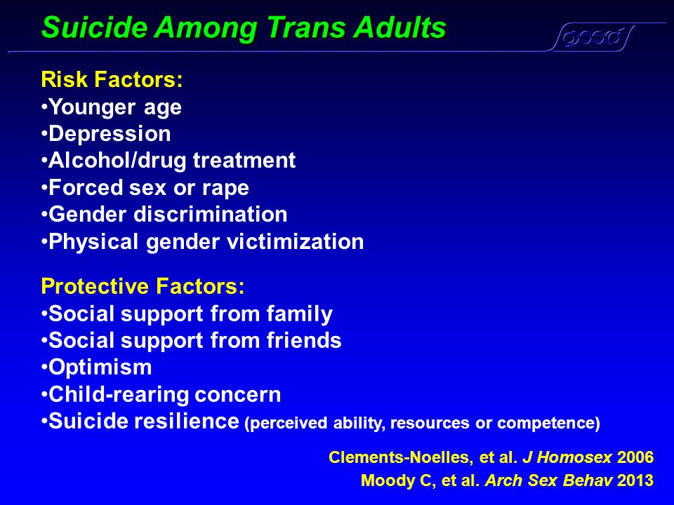 Suicide Among Trans Adults