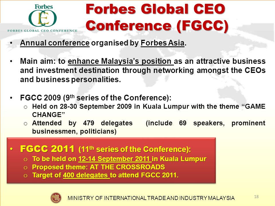 Forbes Global CEO Conference (FGCC)