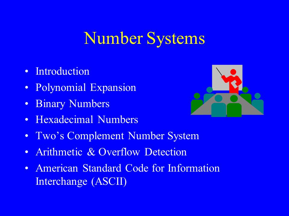 Number Systems Introduction Polynomial Expansion Binary Numbers