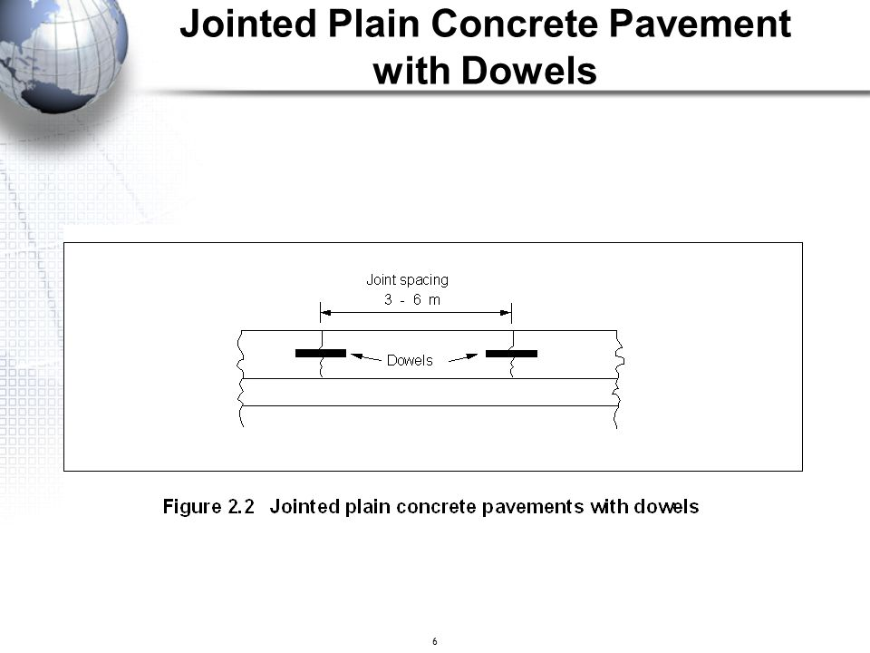 Jointed Plain Concrete Pavement with Dowels