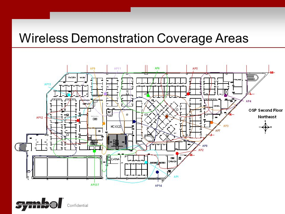Wireless Demonstration Coverage Areas