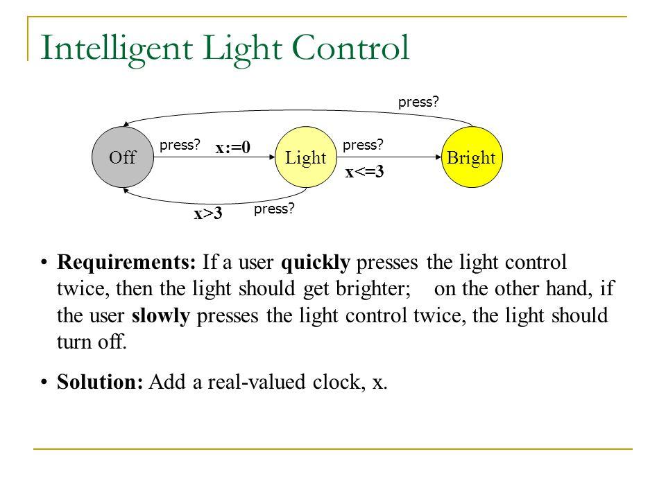 Intelligent Light Control