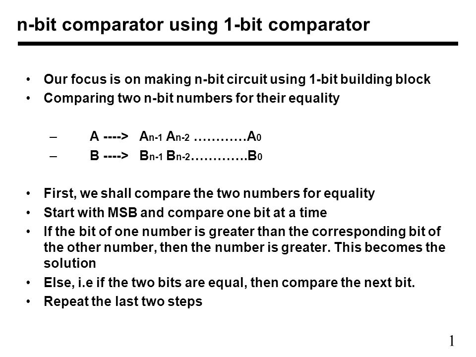 n bit comparator using 1 bit comparator ppt video online download 3-Bit Comparator Truth Table n bit comparator using 1 bit comparator