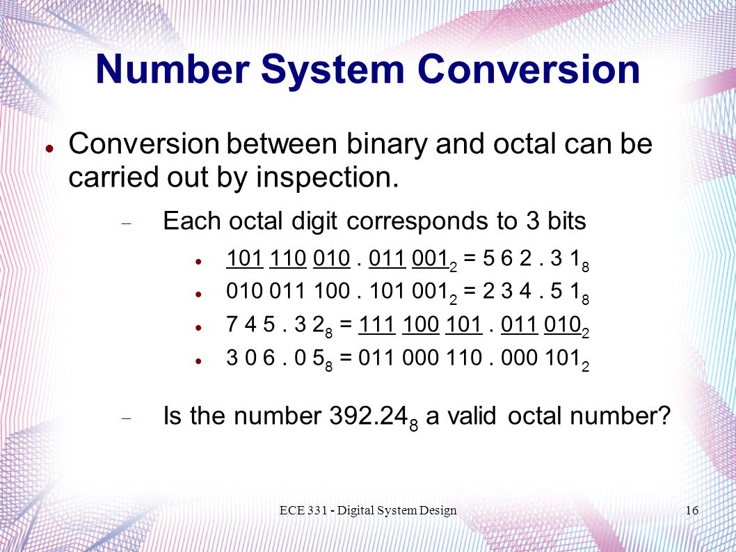 Number System Conversion